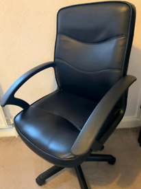 Office chair leather style