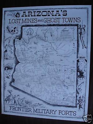 Arizona Treasure Map