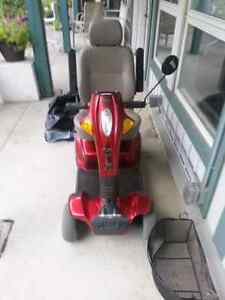 Pride Legend 4 wheeled Scooter (price reduced)
