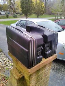 KRAUSER BMW HARD BAGS MADE IN WEST GERMANY HONDA GOLDWING Windsor Region Ontario image 3