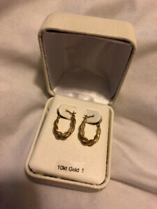 10k Gold Earrings