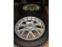 Mgzr alloy wheels, 16 inch, all good tyres.