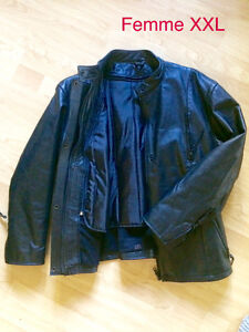 MANTEAUX CUIR MOTO  LEATHER MOTORCYCLE JACKETS