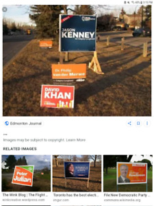 WANTED: coroplast election signs