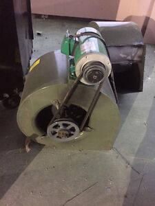 3 exhaust fans and 2 electric motors