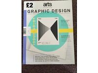 Variety of graphic design magazines