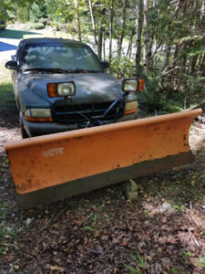 Arctic 7' snowplow with free truck
