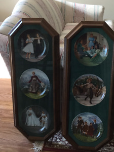 Collector Plates for Sale-Sound of Music and Grimms Fairy Tales
