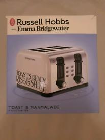 Brand new Russell Hobbs toast and marmalalde toaster