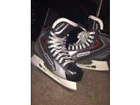 Bauer vapour ice skates size 9.5