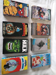 VHS vintage collection