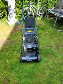 Lawnmower wanted running or not