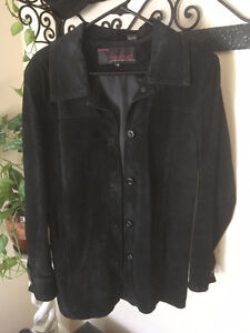 Beautiful, Genuine Suede, Black, size M, Jacket for sale.