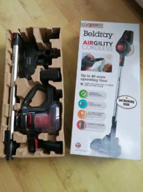 Beldray Airgility cordless handheld hoover vacuum