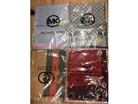 Louis Vuitton, Michael Kors, Gucci, CK. Best price. Best quality scarves/shawls