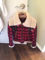 Authentic Moose Knuckles women's winter fall jacket size small