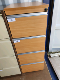 Filling cabinet with Key good condition