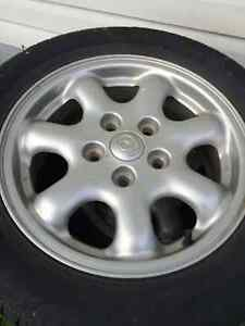 Mazda Rims with Tires