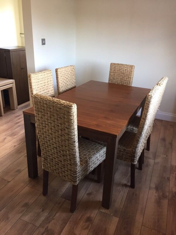 Homebase Extending Dining Table 6 Chairs