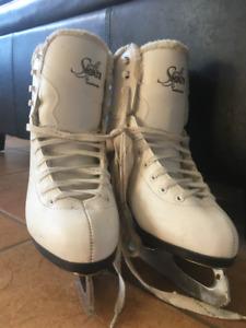 ladies size 7 figure skates
