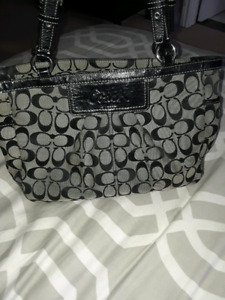 Coach purse good cond. Some wear