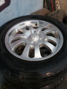 DIP 6x115 17 inch rims with tires