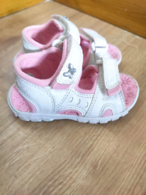 Baby girl Next sandals shoes size 4.