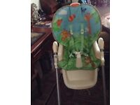 High chair. Fully adjustable