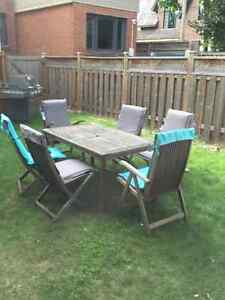 Lawn Furniture Table and chairs