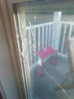 Need replacement  the House windowglass asap