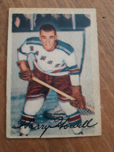 CARTE HOCKEY CARD 1953-54 HARRY HOWELL RC H.O.F.