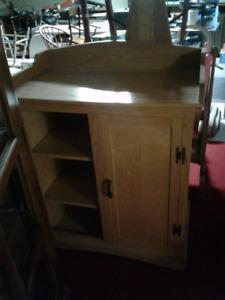 Solid oak change table