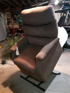 Pride recliner lift chair & a Golden tech. recliner lift chair