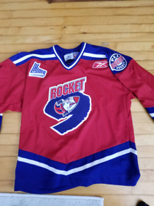 2005-06 PEI Rocket signed official team Jersey