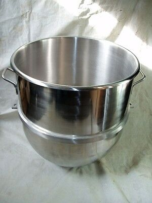 NEW 60 QT STAINLESS STEEL MIXING BOWL FITS HOBART MIXER