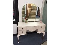Pretty pink vintage dressing table