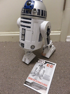 INTERACTIVE R2-D2 1/6 SIZE WORKING GREAT DISPLAY