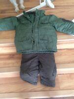 3x boys winter coat/pants