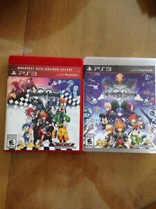 Kingdom hearts 1.5 et 2.5 au ps3