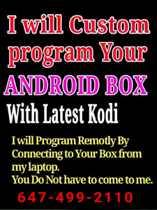 ~° Android Boxes Programming / Selling / Iptv  Repair fix update