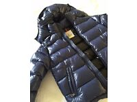Mens Moncler coat size medium