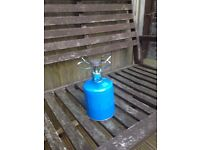 Camping gaz stove and refill