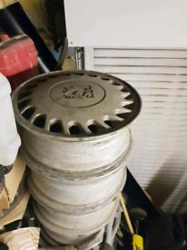 Collectors item Vauxhall Alloys Wheels