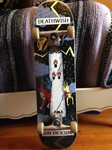 Jon Dickson limited edition Skateboard