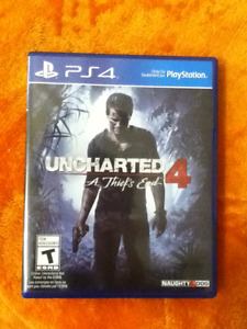 Uncharted 4 PS4 brand new