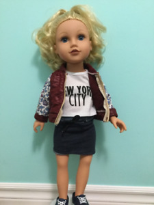 Journey girl dolls, clothes, and accessories.