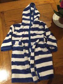 John Lewis dressing gown 12-18months