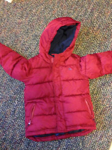 SIZE 5 BOYS OLD NAVY WINTER JACKET