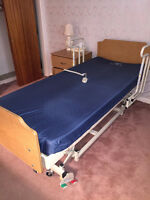 Electric Hospital Bed with Controller