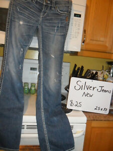 Silver Jeans Size 25/30,Asking $25.00